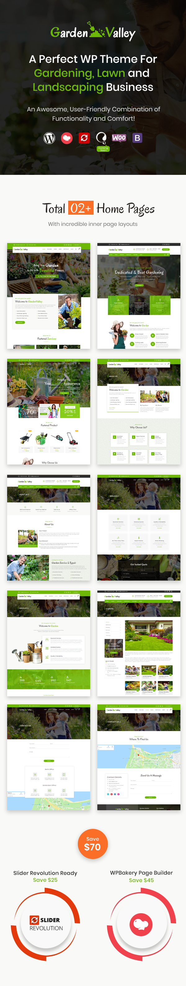 GardenValley WordPress Theme